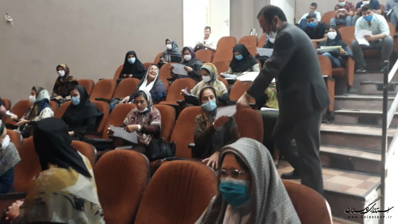 آموزش بیش از ۲ هزار نفر از عوامل بازرسی انتخابات ۱۴۰۰ در گلستان آغاز شد