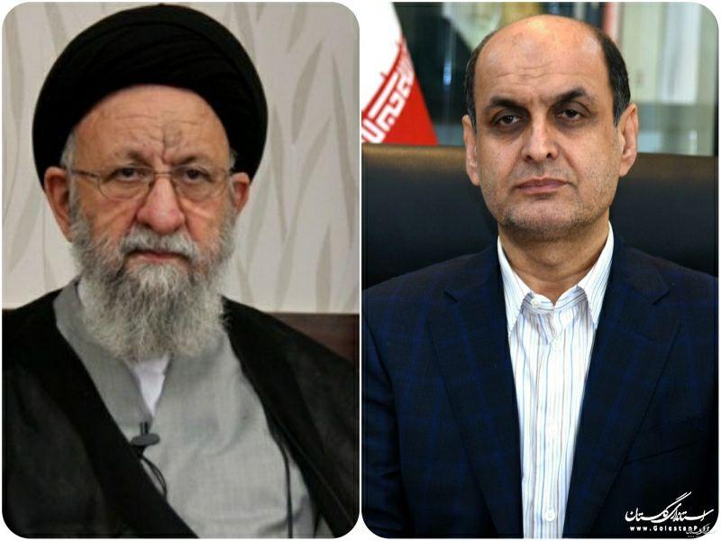 پیام مشترک تقدیر  نماینده ولی فقیه در استان و استاندار گلستان از حضور مردم در انتخابات ۲۸ خرداد