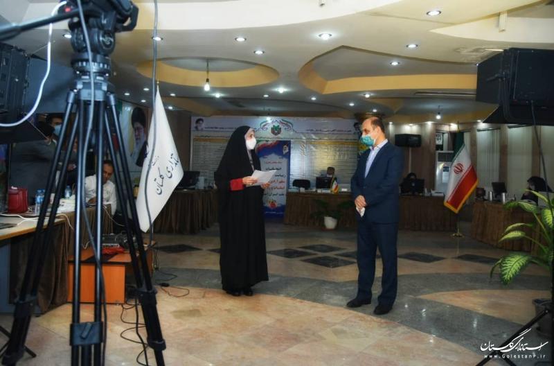 تاکنون بیش از 57 درصد گلستانی های واجد شرایط در انتخابات شرکت کرده اند
