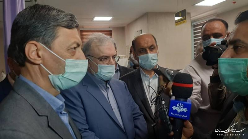 بیمارستان 64 تختخوابی مراوه تپه افتتاح شد