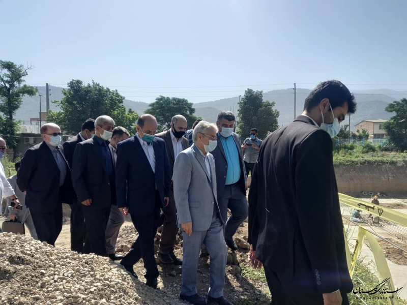 معاون رییس جمهوری از ۲ پروژه عمرانی رامیان و آزادشهر بازدید کرد