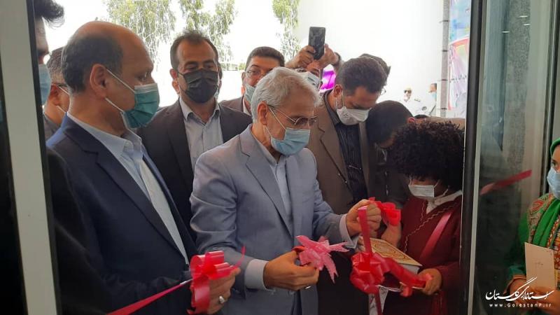 ساختمان پزشکی قانونی گنبدکاووس باحضور معاون رییس جمهوری افتتاح شد