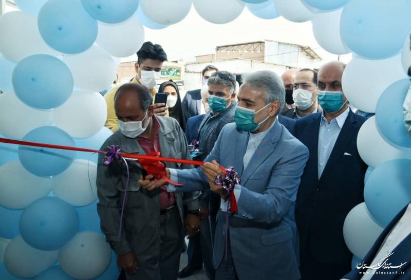 مدرسه ۱۶ کلاسه شفقت گرگان با حضور معاون رییس جمهور افتتاح شد