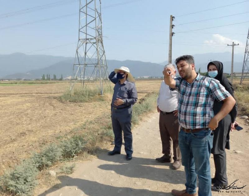 بازدید مدیرعامل شرکت آب منطقه ای از عملیات اجرائی حفر و تجهیز دو حلقه چاه جدید در گرگان