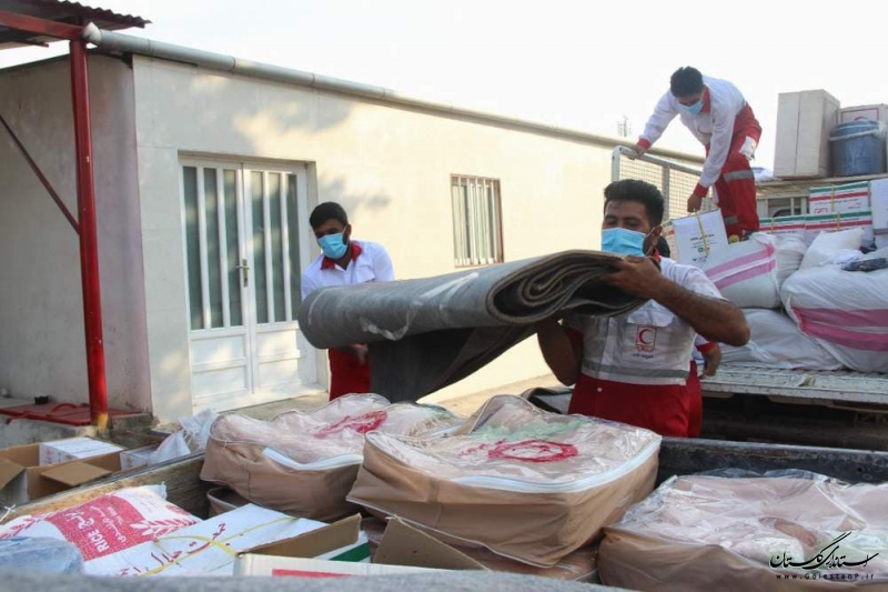 آبگرفتگی در گلستان/ امدادرسانی به 222 نفر در مراوه تپه و آزادشهر