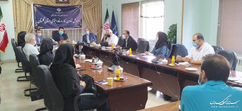 برگزاری نشست مدیرکل تعاون، کار و رفاه اجتماعی با اعضاء انجمن صنفی کارفرمایی مراکز مشاوره و خدمات کارآفرینی استان