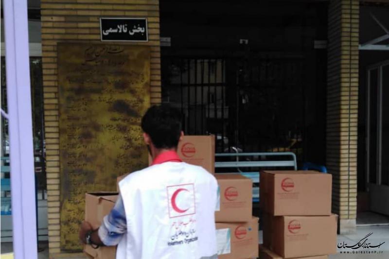 توزیع بیش از 3600 بسته بهداشتی میان بیماران خاص در گلستان