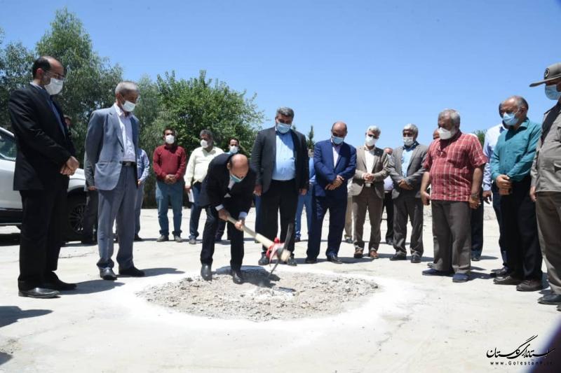 افتتاح و کلنگ زنی سه پروژه در شهرستان رامیان با اعتبار 20 میلیارد تومان