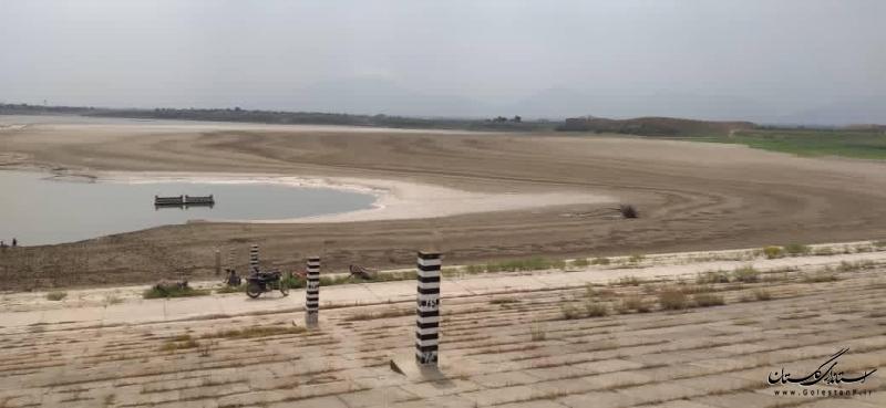20 درصد از ظرفیت سدهای استان گلستان آب دارد/ ادامه خشکسالی در گلستان