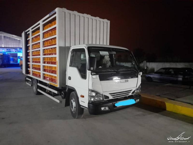 توقیف 2 خودروی حمل مرغ زنده غیر مجاز در غرب استان گلستان