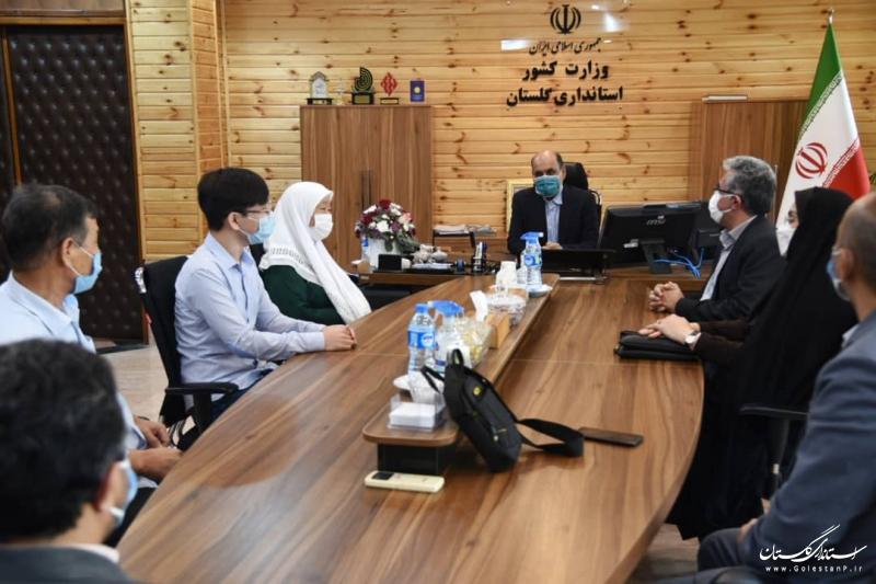 تقدیر استاندار گلستان از دانش آموز نخبه گلستانی