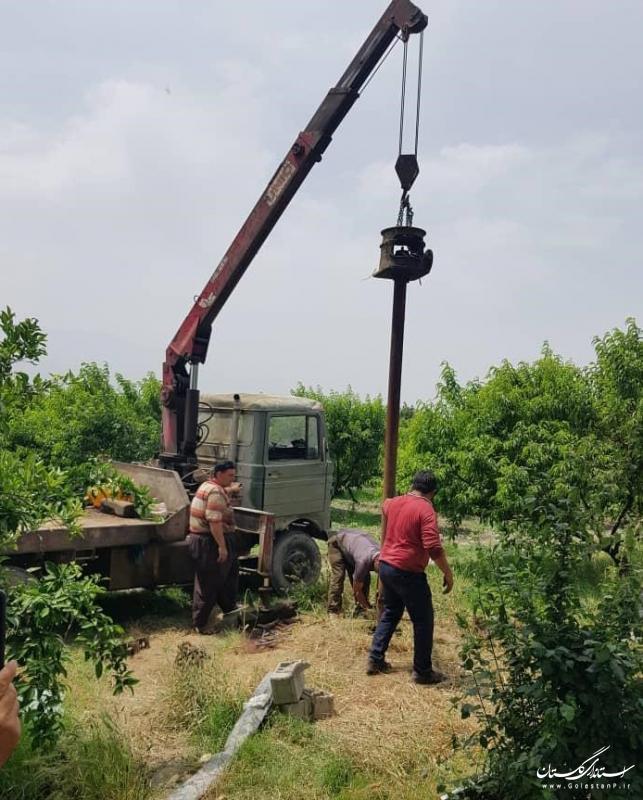 انسداد 20 حلقه چاه غیر مجاز در حوزه منابع آب کردکوی، بندرگز و ترکمن طی 4 ماه ابتدای سال
