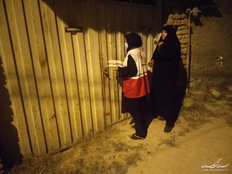 هلال احمر گلستان در دهه محرم؛ ۱۹ هزار پرس غذای گرم و ۱۰ هزار ماسک توزیع کرد