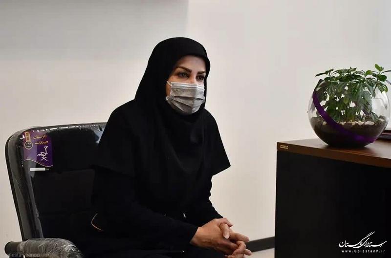 بازدید مدیر کل امور زنان و خانواده از مرکز تخصصی هدیش حساب برتر