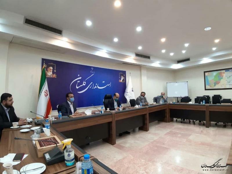 جلسه بررسی و پیگیری روند اجرای پروژه موزه میراث روستایی گلستان با حضور استاندار گلستان