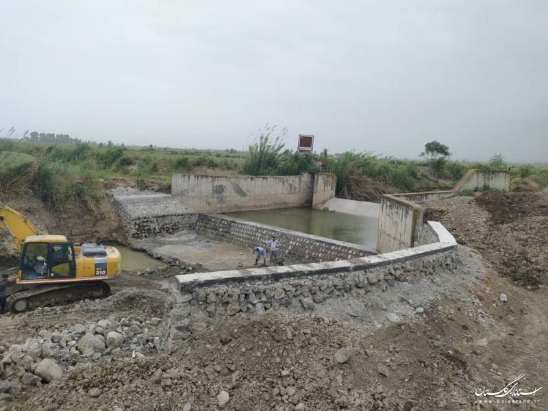 افتتاح 14 پروژه شرکت آب منطقه ای گلستان در بخش طرح های زودبازده وتامین آب
