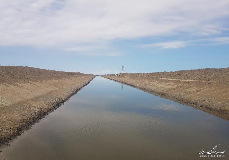 عملیات زهکشی اراضی اولویت دار توسط شرکت آب منطقه ای گلستان در سطح 42 هزار هکتار