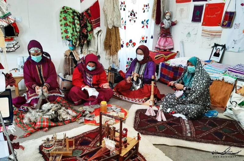 برنامهریزی برای تشکیل جامعه تخصصی فعالان صنایعدستی استان گلستان