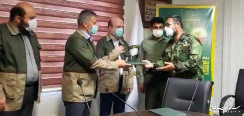 12 جنگلبان نمونه و افتخاری استان تقدیر شدند