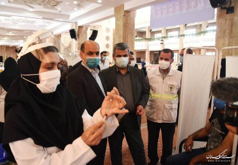 امروز میزان مجموع تزریق واکسن در استان از مرز یک میلیون دُز گذشت