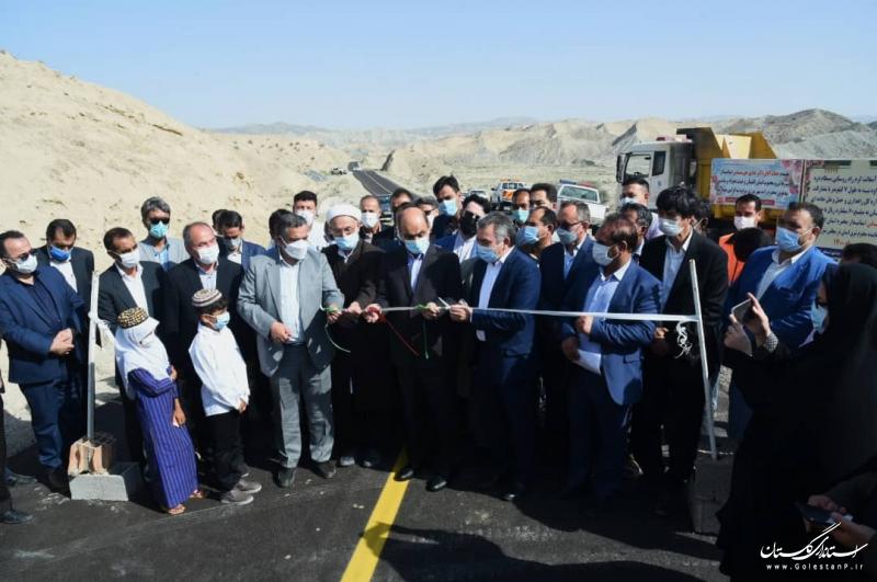 افتتاح و آغاز به کار پروژه های زیرساختی و عمرانی در شهرستان مراوه تپه