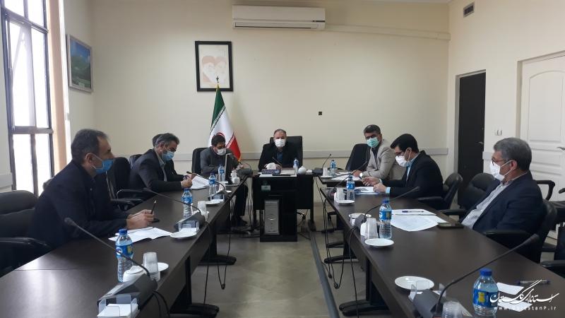 برگزاری جلسه کلینیک عارضه یابی واحدهای تولیدی و اقتصادی استان